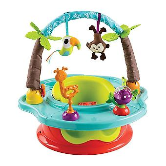 Sommer Kleinkind Deluxe Superseat 3-In-1 Island Giggles Wild Safari #13506