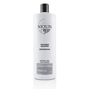 Derma purifying system 1 cleanser shampoo (natural hair, light thinning) 224109 1000ml/33.8oz