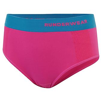 Runderwear Dames Dames Running Low Rise Hipster Ondergoed Brief Roze /Blauw