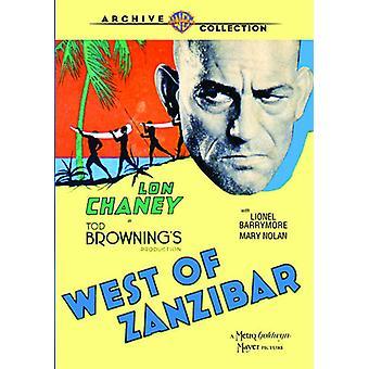 Al oeste de Zanzibar (1929) importación de Estados Unidos [DVD]