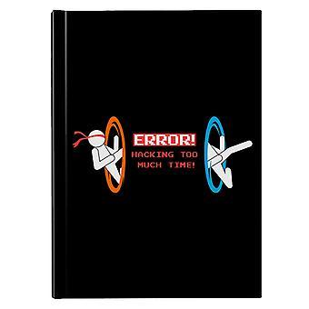 Hacking Error Portal Hardback Journal
