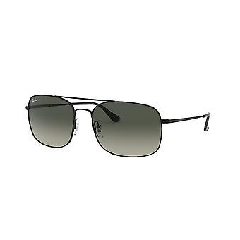 Ray-Ban RB3611 006/71 Matowe czarne/szare okulary przeciwsłoneczne Ciemnoszary