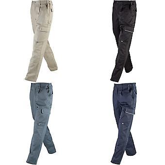 James og Nicholson Unisex vann Repellant Workwear bukser