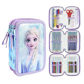Mrożone 2, Ołówek box z 43 częściami - Elsa
