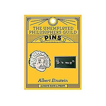 دبوس مجموعة -- UPG -- آينشتاين وE = mc2 5093