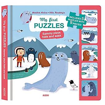 My First Puzzles Sammy Plays Hide and Seek by Riviere & Benedicte