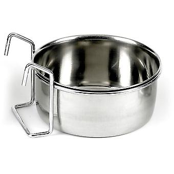 Classic Hook On Stainless Steel Coop Cup - 600ml (125mm Diameter)