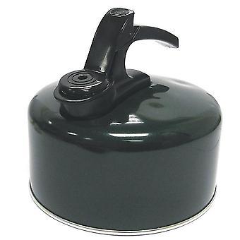 Hi-Gear Aluminium Outdoor Camping Whistling Kettle (2 Litre) Black