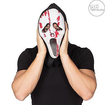 Krvácanie Scream maska dospelých Krv Horor Scream Mask Bloody Halloween