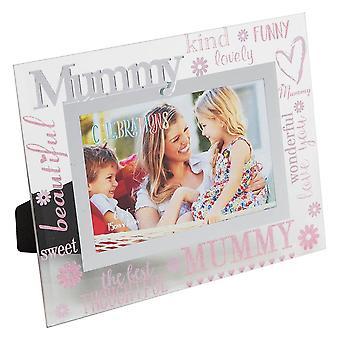 Widdop & Co. Mummy 3d Words 6 X 4 Glass Photo Frame