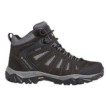 Sprayway Mens Cara Mid Suede  Mesh Lightweight Walking Boots