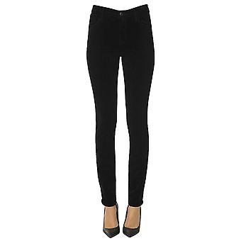 J Brand Ezgl181009 Women's Black Cotton Pants