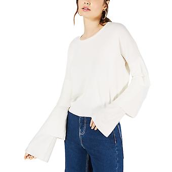 Sage the Label | Cropped Tiered-Sleeve Sweater