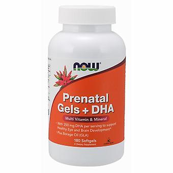 Nyt Elintarvikkeet Prenatal Gels + DHA, 180 Softgels