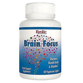 Kyolic Brain Focus, 120 mg, 60 Caplets