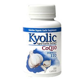 Kyolic With Coq10 Formula 110, 100 Caps