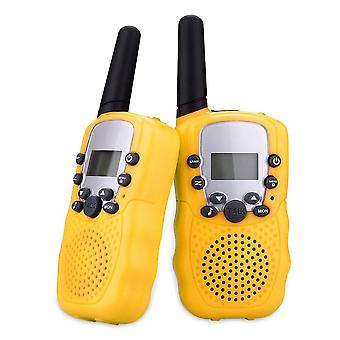 Two Way Radio Walkie Talkies With 22 Channel - Uhf Long Range Handheld Transceiver For Kids