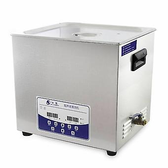 14.5l Professional Ultrasonic Cleaner Machine With Digital Touchpad Timer Heated Stainless Steel Tank Capacity Adjustable