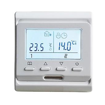 220v Colorful Lcd Screen Programmable Temperature Controller Electric Underfloor Room Heating Thermostat (e51.716)