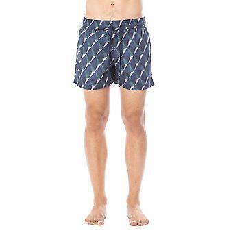 Shorts de natação multicoloridos verri masculino