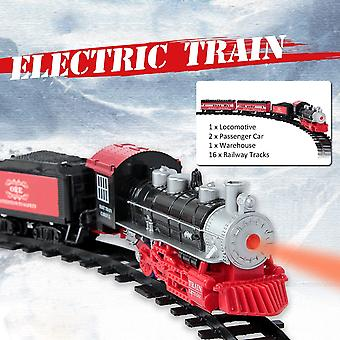 Smoke Light Simulation Sound, Classical Steam Assembled Electric Rail/car/track