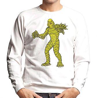 Die Kreatur aus der schwarzen Lagune Ganzkörper-Illustration Männer's Sweatshirt