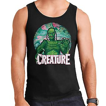 Creature From The Black Lagoon Mix Circle Men's Vest