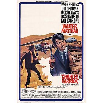 Charley Varrick film plakatutskrift (27 x 40)