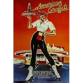 American Graffiti Movie Poster Masterprint