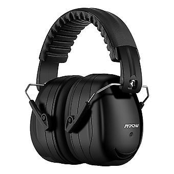Mpow 035 ear defenders, snr 34db noise reduction earmuffs with soft foam ear cups, foldable ear defe