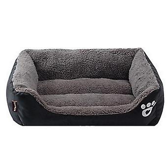 Cozy Dog House, Soft Fleece Nest Baskets-mat, Waterproof Kennel