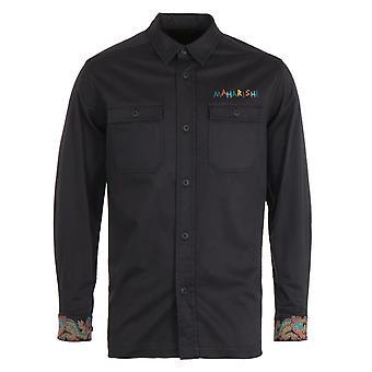 Maharishi Liberty Dragon Mil Black Shirt