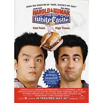 Harold & Kumar Go to White Castle Movie Poster (11 x 17)