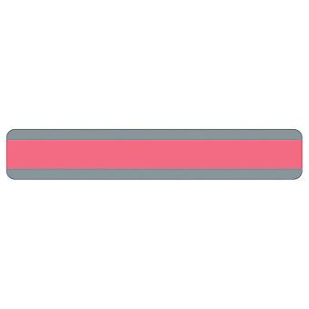 "Double Wide Sentence Strip Reading Guide, 1.25"" X 7.25"", Rose"