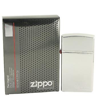Zippo Original by Zippo Eau De Toilette Spray Refillable 1.7 oz / 50 ml (Men)