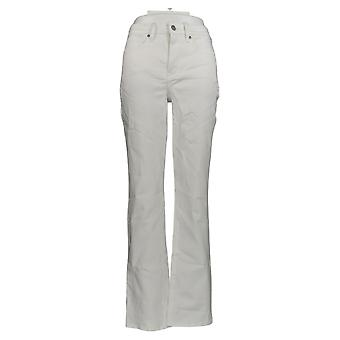 NYDJ Women's Jeans 00 Relaxed Straight Jeans - Optic White A376437
