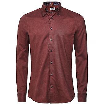 Stenstroms Slimline Flannel Cotton Shirt