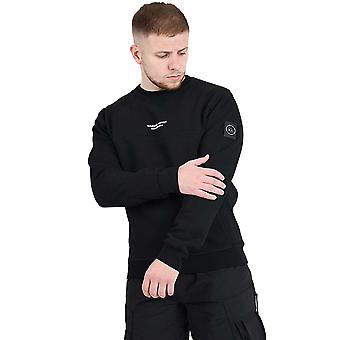 Marshall Artist Siren Crew Neck Sweatshirt - Black