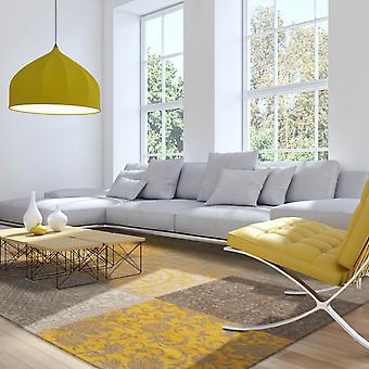 Louis De Poortere dywany Vintage Multi 8084 żółty