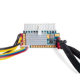 Pc Power Supply , 450w 24pin 12v Dc Input Peak 450w Output Realan Mini Itx Pico