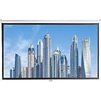 100 inch (254 cm) Manual Pull Down Projector Screen