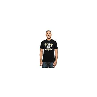 '47 Nhl Anaheim Ducks Splitter Black T-shirt