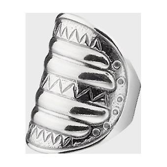 Anillo kalevala anillo mujer perniö anillo plata 2401110210 ancho de anillo 66