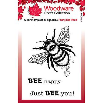 Woodware Clear Stamps - Singles - Little Bee