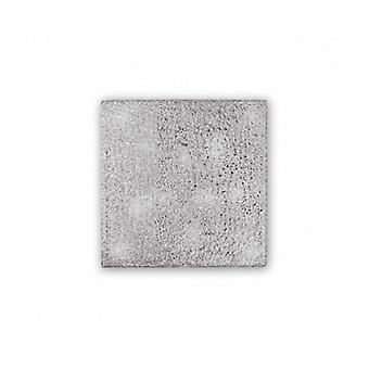 Plafón De Aluminio Quadro 8 Bombillas
