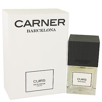 Cuirs Eau De Parfum Spray By Carner Barcelona 3.4 oz Eau De Parfum Spray