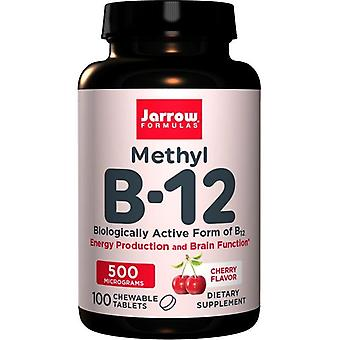 Jarrow Formules Methyl B12 500mcg Zuigtabletten 100