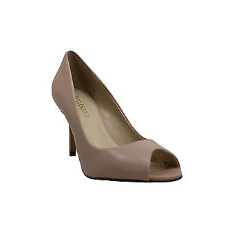 Enzo Angiolini Women's Shoes Dyann Leather Peep Toe Classic Pumps