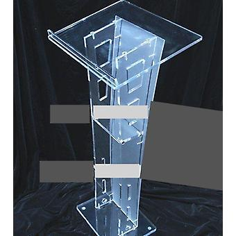 Clear Acrylic Furniture Simple Solid . Pulpit Acrylic Podium