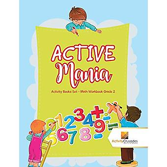 Active Mania - Activity Books Set - Math Workbook Grade 2 by Activity